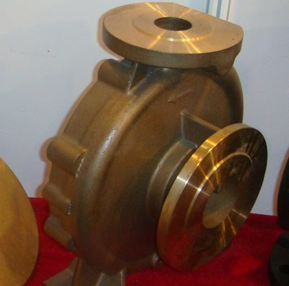 Copper pump body